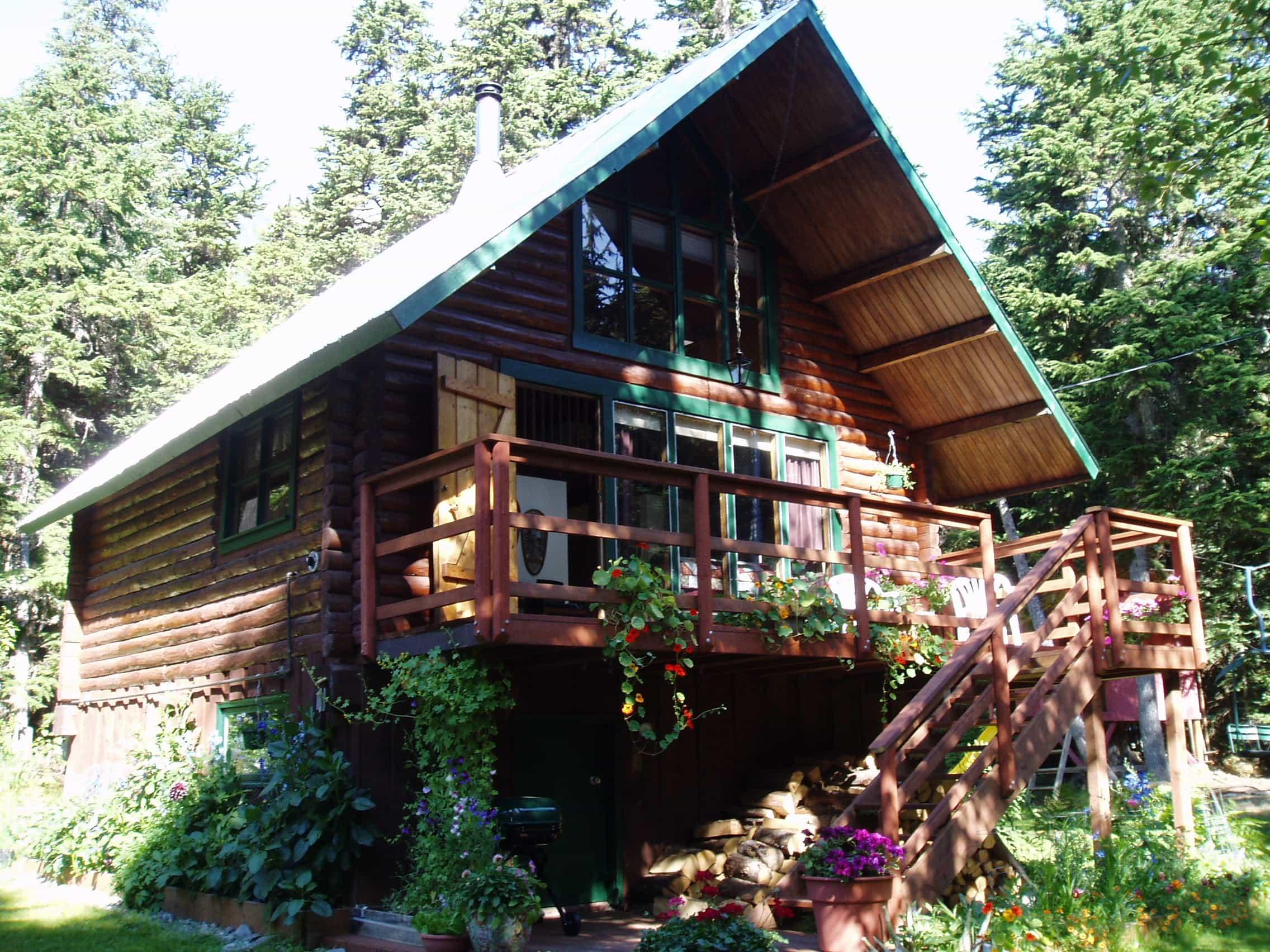Alyeska Cabin in Summer