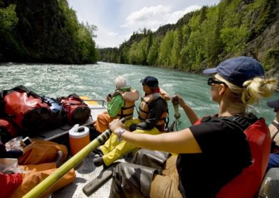 River Raft on the Kenai River