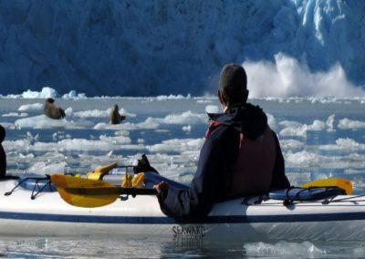 Kayak in Prince William Sound